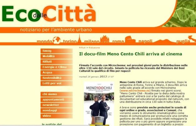 Eco dalle Città 29-01-13